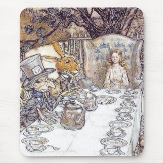 'The tea meeting which deviates' Mouse Pad
