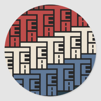 The Tea Party Classic Round Sticker