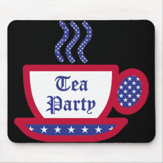 The Tea Party Mouse Pad