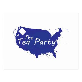 The Tea Party Postcard
