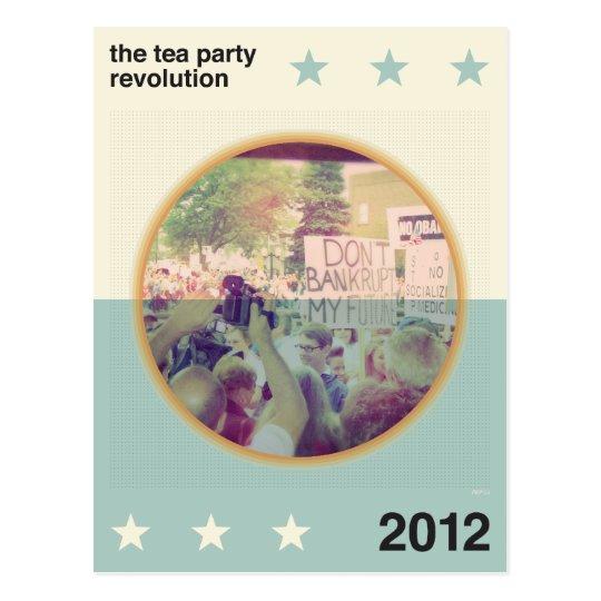 The Tea Party Revolution Postcard