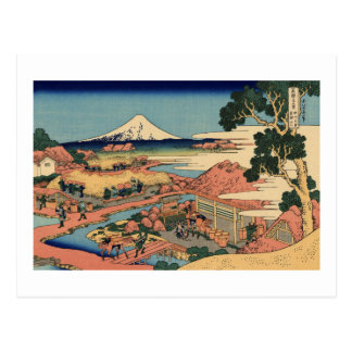 The Tea Plantation of Katakura in Suruga Postcard