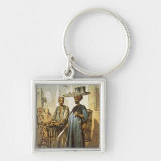 The Tea Seller, from 'Souvenir of Cairo', 1862 (li Key Chain