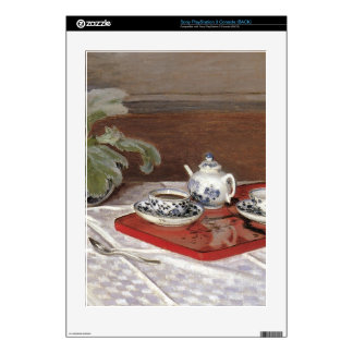 The Tea Set by Claude Monet Skin For The PS3