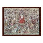 The Teaching Budha Sakyamuni By Chang Sheng-Wen Postcard