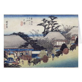 The Teahouse at the Spring, Otsu Greeting Card