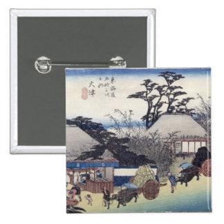 The Teahouse at the Spring, Otsu Pinback Button