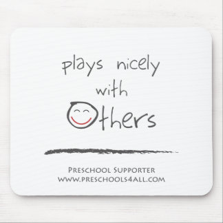 The Team Player - Abstract Mouse Pad
