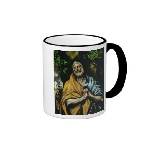 The Tears of St Peter, late 1580s Ringer Coffee Mug