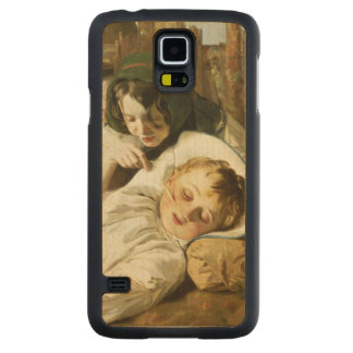 The Tease Carved Maple Galaxy S5 Slim Case