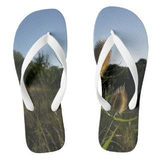 The Teasel Flip Flops