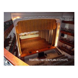 The Teatro Netzahualcoyotl in Tlacotalpan Postcard