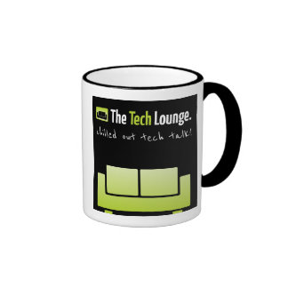 The Tech Lounge Chilled Out tech talk. Ringer Mug