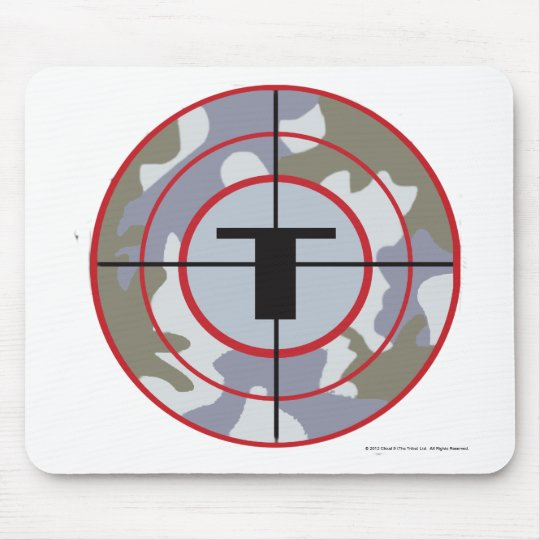 The Techno Tribe Logo Mouse Pad