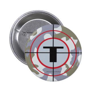 The Techno Tribe Logo Pinback Button