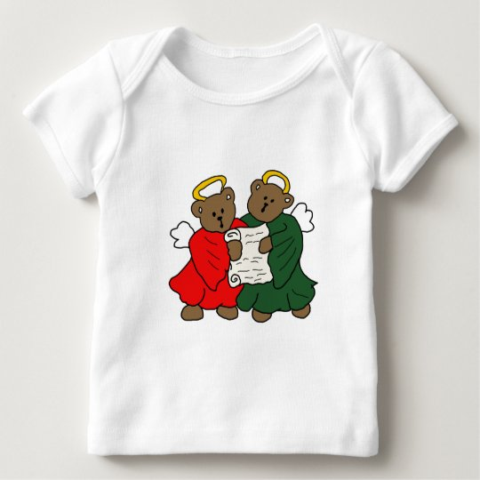The Teddy Bear Angels Baby T-Shirt