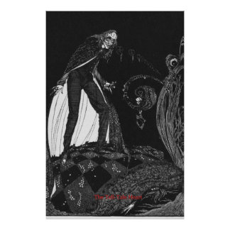 The Tell-Tale Heart by Harry Clarke Poster