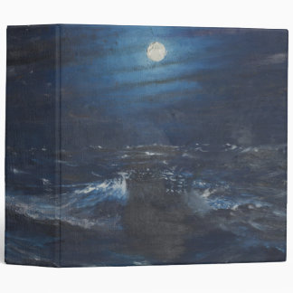 The Tell tale Moon 3 Ring Binder