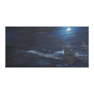 The Tell tale Moon Canvas Print