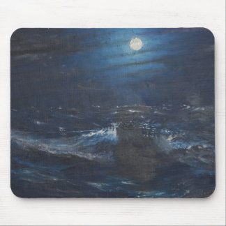 The Tell tale Moon Mouse Pad