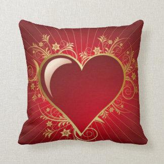 The Telltale Heart Throw Pillow