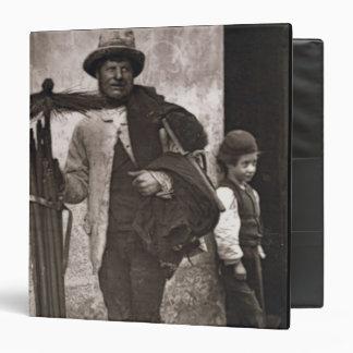 The Temperance Sweep, 1876-77 (woodburytype) 3 Ring Binder