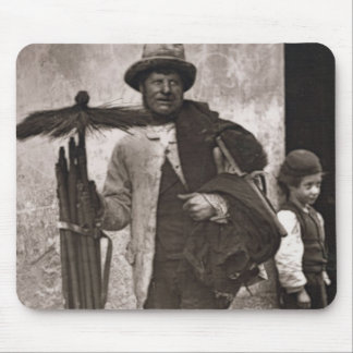 The Temperance Sweep, 1876-77 (woodburytype) Mouse Pad