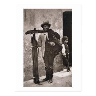The Temperance Sweep, 1876-77 (woodburytype) Postcard