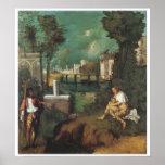 The Tempest, 1510 Giorgione Posters
