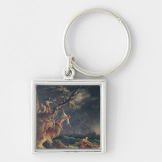 The Tempest, c.1762 Keychain