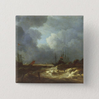 The Tempest Pinback Button