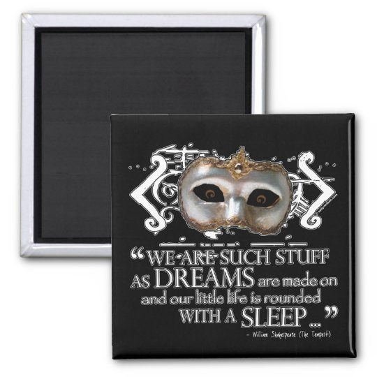 The Tempest Quote Magnet