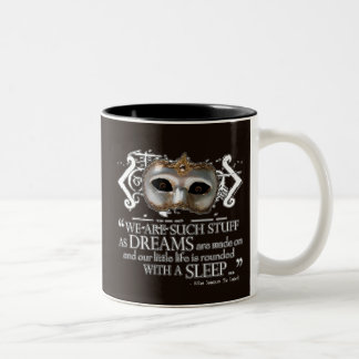 The Tempest Quote Coffee Mugs