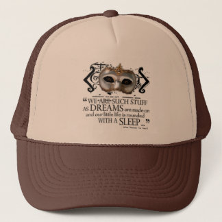 The Tempest Quote Trucker Hat