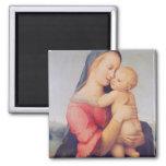 The 'Tempi' Madonna, 1508 2 Inch Square Magnet