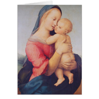 The 'Tempi' Madonna, 1508 Greeting Card