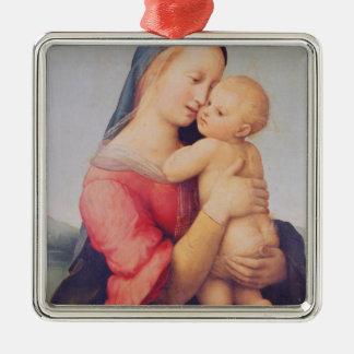 The 'Tempi' Madonna, 1508 Metal Ornament
