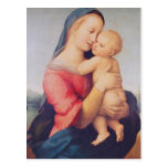 The 'Tempi' Madonna, 1508 Postcard