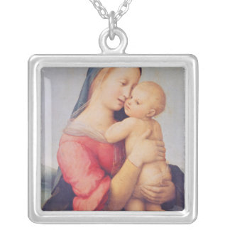 The 'Tempi' Madonna, 1508 Silver Plated Necklace