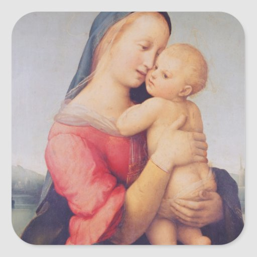 The 'Tempi' Madonna, 1508 Square Sticker