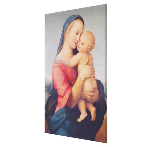 The 'Tempi' Madonna, 1508 Stretched Canvas Print