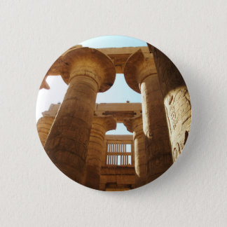 The Temple Complex of Karnak in Thebes, Egypt Button