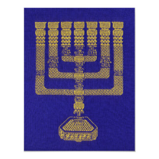 The Temple Lampstand stationary flat Card