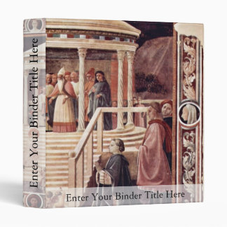 The Temple, Mary By Uccello Paolo (Best Quality) Vinyl Binder