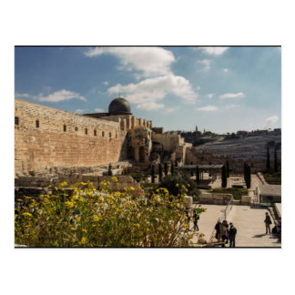 The Temple Mount in Jerusalem Postcard