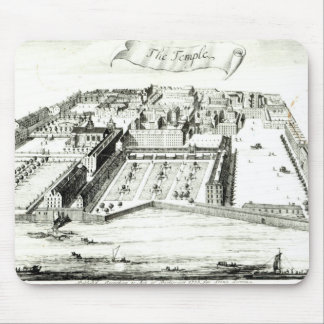 The Temple Mouse Pad