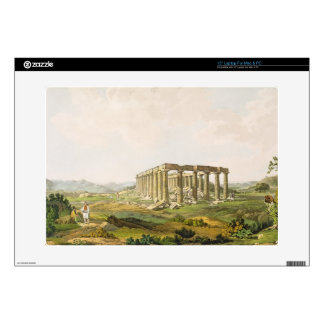 """The Temple of Apollo Epicurius, plate 25 from Part 15"""" Laptop Decals"""
