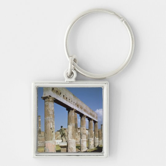 The Temple of Apollo Keychain