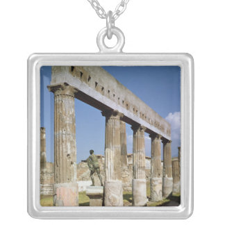 The Temple of Apollo Personalized Necklace