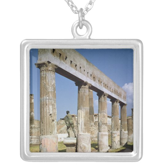 The Temple of Apollo Silver Plated Necklace